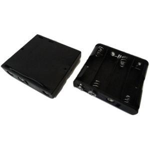 <単3 スナップ接続電池ボックス 1段×4=4本>2個入<bat-012>|sapporo-boueki
