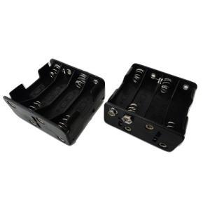 <電池ボックス・電池ケース 単3 8本 スナップ接続電池ボックス>2個入<bat-014>|sapporo-boueki