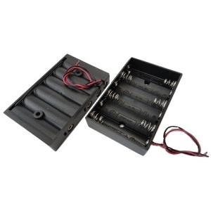 <電池ボックス通販・販売><単3 電池ボックス 1段×6=6本> 2個入<bat-019>|sapporo-boueki