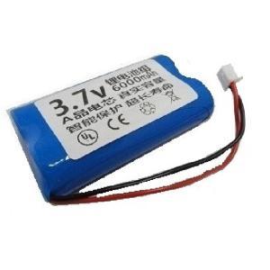 <電子工作用リチウムイオン充電池><工作用リチウムイオン充電池 3.7V 約6000mA 66×38×φ20mm>1個入<bat-100>|sapporo-boueki
