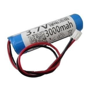 <電子工作用リチウムイオン充電池><工作用リチウムイオン充電池 3.7V 約3000mA 66×38×φ20mm>1個入<bat-102>|sapporo-boueki