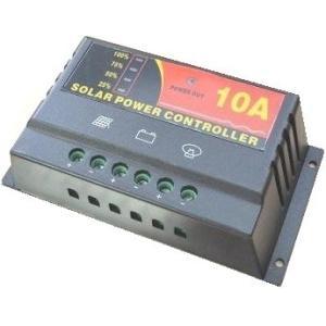 太陽電池コンバーター 太陽電池→バッテリー 12V 10A 太陽電池用変圧器<bat-290>|sapporo-boueki