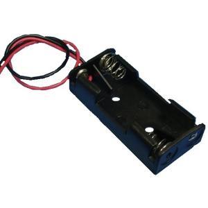 <電池ボックス通販・販売><単4 2本>コード付電池ボックス 直列3V 電子工作用自作電池ボックス>2個入<bat-301>|sapporo-boueki
