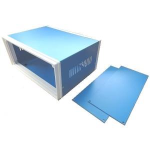 <プラスチックケース通販・販売>110×250×190(mm)汎用電子基板収納用スチールケース・スチール筐体Steelcase AU-3|sapporo-boueki