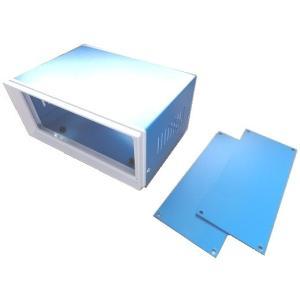 <プラスチックケース通販・販売>80×170×130(mm)汎用電子基板収納用スチールケース・スチール筐体Steelcase AU-5|sapporo-boueki