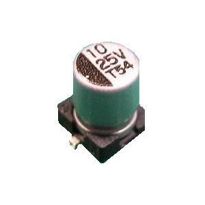 <表面実装コンデンサー通販・販売><表面実装コンデンサ 25V 10μF ±20%>10個<cap-103>|sapporo-boueki
