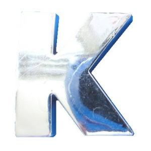 クルマ・バイク用アルファベットエンブレム<K>英文字・数字シール付<car-210>|sapporo-boueki