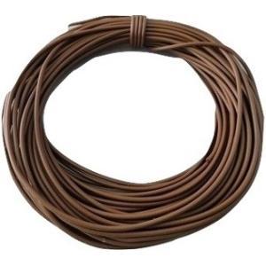 電線・カラーコード <10m・茶1・AVR0.2 外径約1.0mm 芯線数12><cod-001>|sapporo-boueki