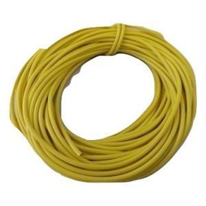 <電線・コード販売・通販><3m・黄色4・AVR0.4>塩化ビニル絶縁電線・コード<cod-044-3m>|sapporo-boueki