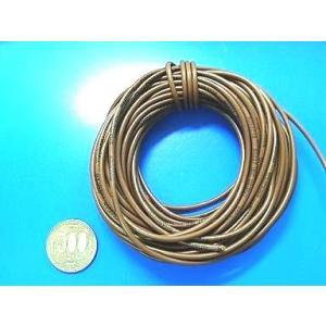 <数量限定><電線・コード販売・通販>絶縁電線・カラーコード<3m・茶1・AVR0.75> <cod-081-3m>|sapporo-boueki