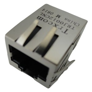 <トランス通販・販売>LANコネクタ(RJ-45)トランス Trxcom社製 TRJ0012CNL (LEDなし)1個<con-060>|sapporo-boueki