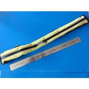<伸縮性ウエストポーチ・ランニングポーチ>ウエストポーチ・ランニングポーチ<黄色> 大2つ口<kei-092>|sapporo-boueki