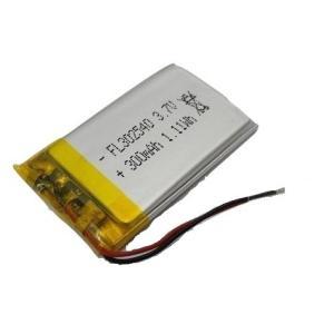 <電子工作用リチウムイオン充電池><工作用リチウムイオン充電池 3.7V 約300mA 約40×約25×約3mm>1個入<kei-702>|sapporo-boueki