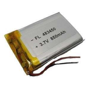 <電子工作用リチウムイオン充電池><工作用リチウムイオン充電池 3.7V 約850mA 約51×約34×約4mm>1個入<kei-706>|sapporo-boueki