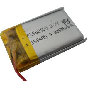 <電子工作用リチウムイオン充電池><工作用リチウムイオン充電池 3.7V 約240mA 約32×約20×約5mm>1個入<kei-715>|sapporo-boueki