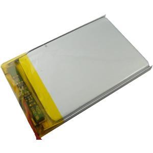工作用リチウムイオン充電池 3.7V 約500mA 約52.9×約34.0mm×厚約2.9mm 1個入<kei-722> sapporo-boueki