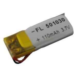 工作用リチウムイオン充電池 3.7V 約110mA 約30mm×約11.0mm×厚5.2mm 1個入<kei-737> sapporo-boueki