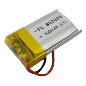 <工作用リチウムイオン充電池 3.7V 約300mA 約33mm×約20mm×厚6mm 重さ6.2g>1個入<kei-741>|sapporo-boueki