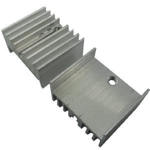 <アルミ放熱板通販・販売>アルミ放熱板<サイズ 内部TR・FET 21mm×23mm用×13mm> 5個入<kei-803>|sapporo-boueki