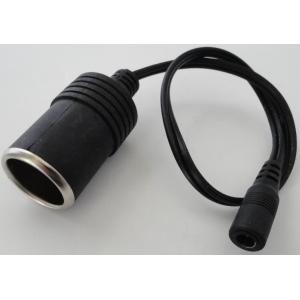 <シガーソケット通販・販売><シガーソケットK φ5.5mm用接続  コード長250mm<メス端子付>>1個<kei-852>|sapporo-boueki