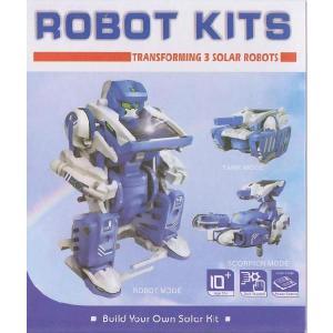 太陽電池工作キット 3種類に変形できる太陽電池工作キット<kit-011>|sapporo-boueki