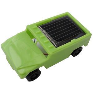 太陽発電で動く模型自動車 緑 ジープタイプ>10個入<kit-096>|sapporo-boueki