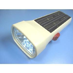 太陽光で発電するLED懐中電灯 高輝度LED6灯災害用懐中電灯<led-070>|sapporo-boueki