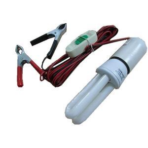 車のバッテリー12Vで点灯する蛍光灯<12V11W蛍光灯>エコな蛍光灯<led-080>|sapporo-boueki