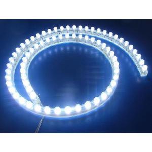 超高輝度!<白 1×72=72灯>防水仕様 LEDテープライト 72cm 12V仕様<led-506>|sapporo-boueki