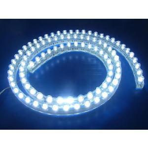 超高輝度!<白 1×96=96灯>防水仕様 LEDテープライト 96cm 12V仕様<led-507>|sapporo-boueki