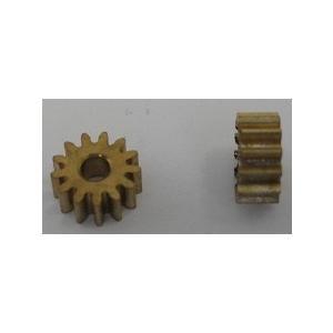 <真鍮製工作用歯車・真鍮製ギアー通販・販売><穴円の直径φ2mm 歯数13 直径6.05mm 幅2.5mm>2個入<mof-409> sapporo-boueki