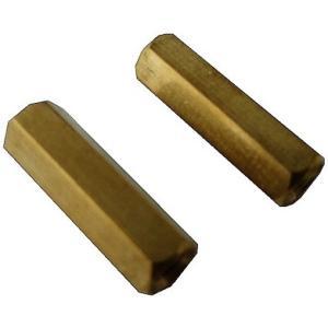 <スペーサー><M3 六角真鍮スペーサー  両メネジ 高さ20mm>約12個<pps-309>|sapporo-boueki