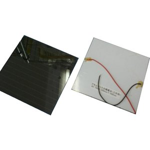<現品限り アモルファス太陽電池><アモルファス太陽電池 6.0V 70mA 約100×約100mm>1枚入<psp-032>|sapporo-boueki