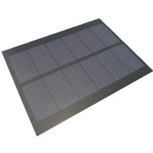 <シリコン単結晶・太陽電池販売・通販>電子工作用小型太陽電池<125×95mm 3v 450mA>1枚<psp-308>|sapporo-boueki