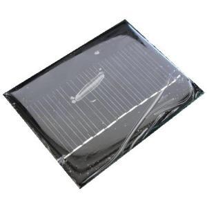 <シリコン単結晶・太陽電池販売・通販>電子工作用小型太陽電池<80mmx 60mm 5.5V 70mA>1枚<psp-508>|sapporo-boueki