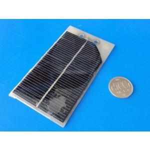 <シリコン単結晶・太陽電池販売・通販><太陽電池販売>工作用小型太陽電池 B級品 123x68mm 5v 200mA<psp-511-b>|sapporo-boueki