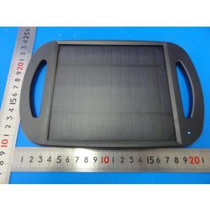 <アウトドア用防水 リュックにつける太陽電池 出力USB 5V バッテリーなし><太陽電池販売>220mm×140mm 5V600mA 重さ約135g 防水ではない<psp-517>|sapporo-boueki