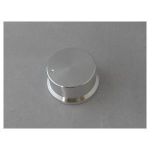 <小型ボリューム用ツマミ 差込式><直径φ34×高さ18 Dタイプ シルバー>1個<res-311> sapporo-boueki