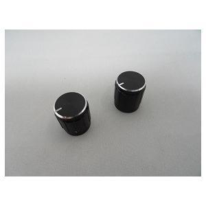<小型ボリューム用ツマミ><直径φ14.5×高さ17 Fタイプ ブラック>2個<res-313> sapporo-boueki