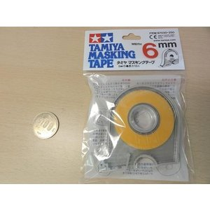 <タミヤ模型・楽しい工作通販・販売 >マスキングテープ 幅6mm 長さ18m (87030)<tam-030>|sapporo-boueki