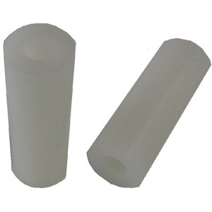 <M5プラスチックスペーサー φ5mmネジ用><高さ7mm 外径φ9.5mm 内径φ5.2mm>約24個入<yjp-0175>|sapporo-boueki