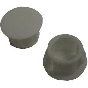 穴埋め・目隠しキャップ 穴の円の直径φ10mm 白 SKT-10 5個入<yjp-0536> sapporo-boueki