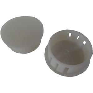 穴埋め・目隠しキャップ 穴の円の直径φ25mm 白 SKT-25 5個入<yjp-0551> sapporo-boueki