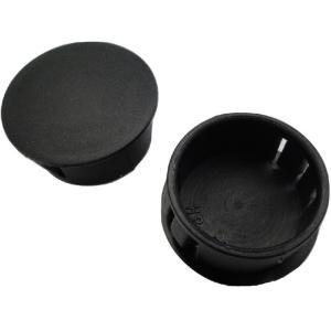 穴埋め・目隠しキャップ 穴の円の直径φ38mm 黒 SKT-38 5個入<yjp-0555> sapporo-boueki