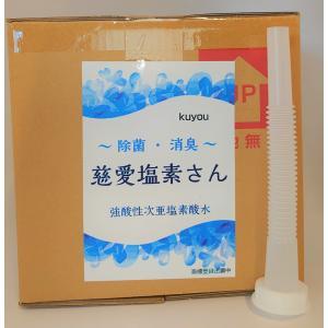 慈愛塩素さん 10L 強酸性電解水 コロナ対策・ウイルス除菌・消臭・無害|sapporo-kuyou