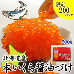北海道産 いくら 醤油づけ 500g 鮭いくら わけあり 特別価格 お取り寄せ 海鮮 さけ いくら 訳あり sapporo-rinkou
