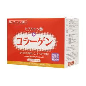 ヒアルロン酸+コラーゲン 3gX30袋