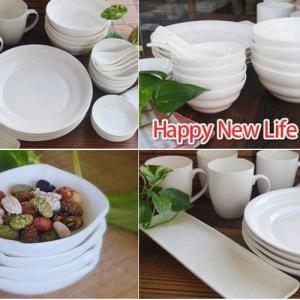 洋食器 送料無料 サラセラ SARA-CERAハッピーセット25 食器セット 福袋 白い食器 200000000030|sara-cera-y