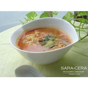 洋食器 ホワイトピーチラーメンボール 200280000069   (お取り寄せ商品)|sara-cera-y