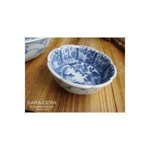 お盆休みセール!和食器 いろいろ盛りの花鳥雪輪薬味皿 (お取り寄せ商品)    sara-cera-y